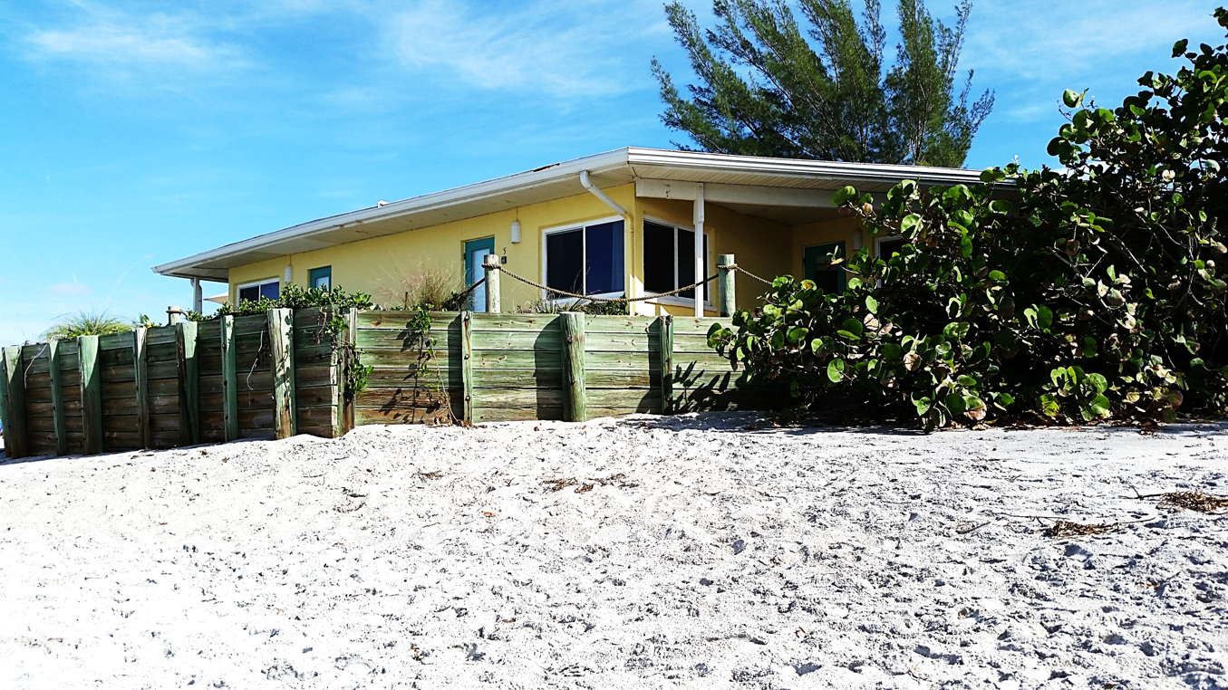 We are located right on the beach! Visit us on Manasota ...