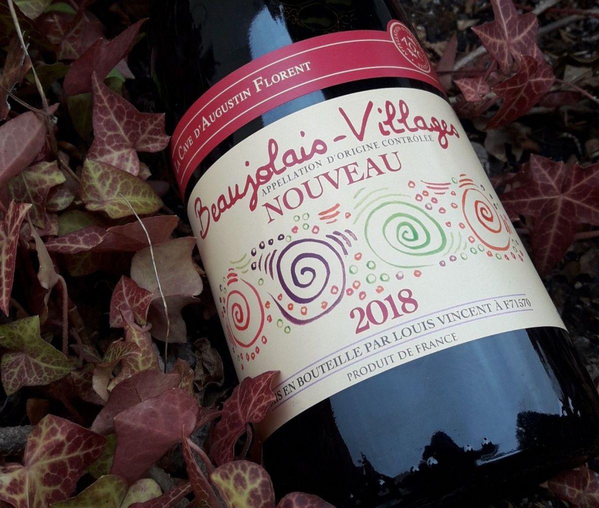La Cave Daugustin Florent 2018 Beaujolais Nouveau Vinos Vinos