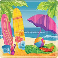 Beach Themed Party Supplies