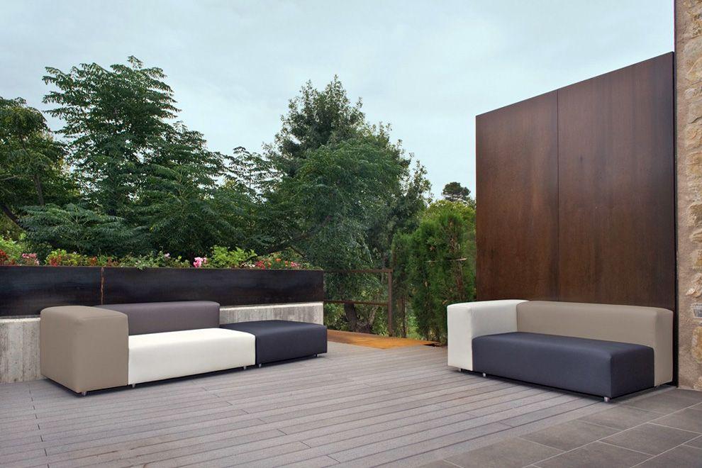 Outdoor Furniture By Outer Eden   The Dorm Outdoor Sofa