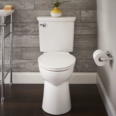 American Standard Vormax Dual Flush Elongated Two Piece Toilet