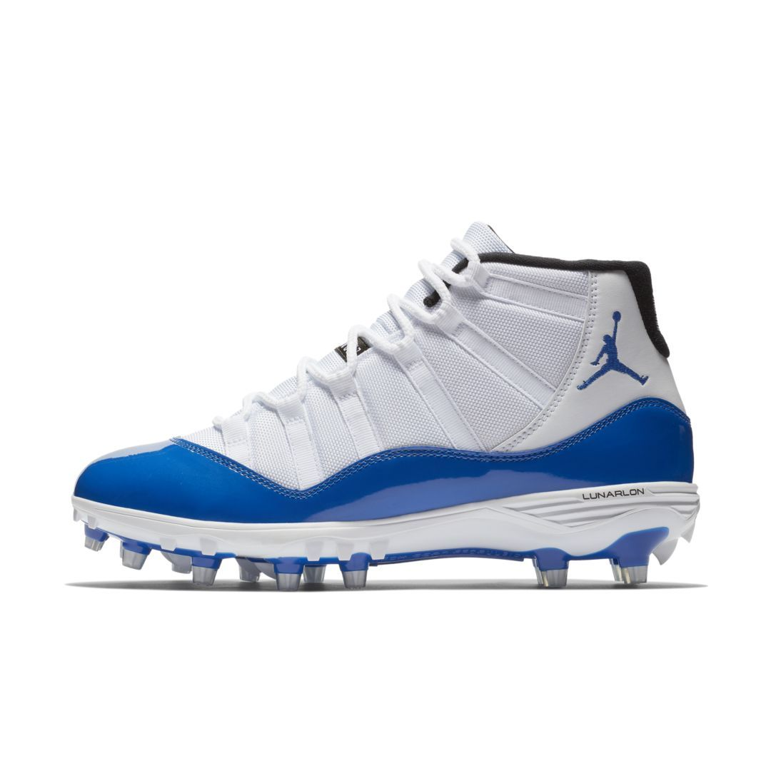 f8536c998bf Jordan XI Retro TD Men s Football Cleat Size 11.5 (White)