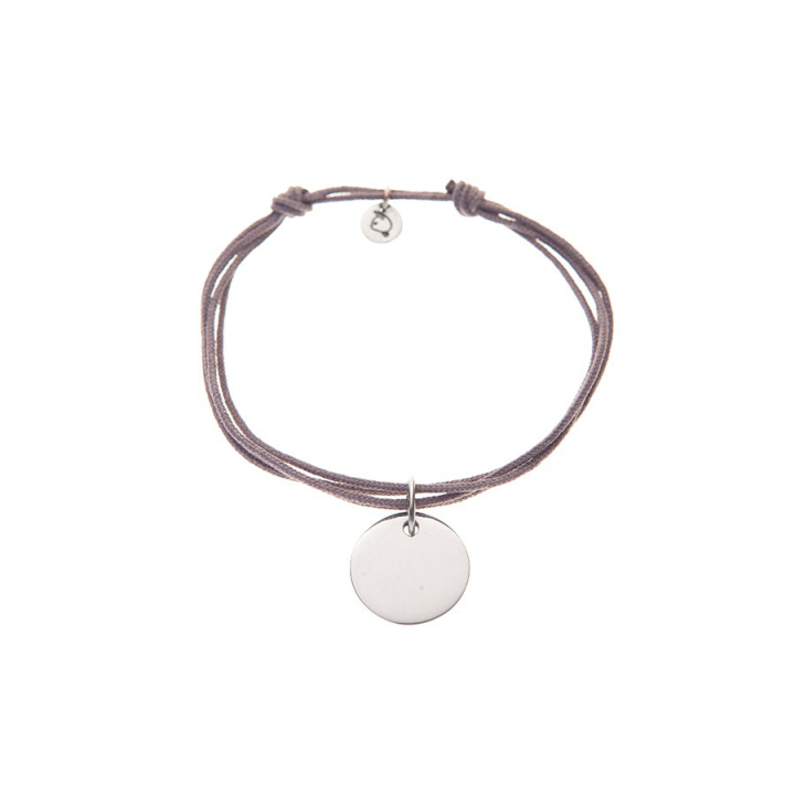 Cordon En Argent Médaille Bracelet Personnalisable Avec Double m0v8ynPONw