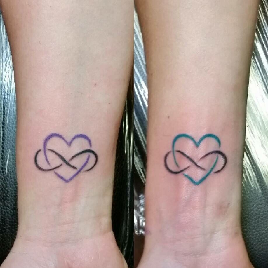 Mother Daughter Matching Eternal Love Tattoos Tattoos For