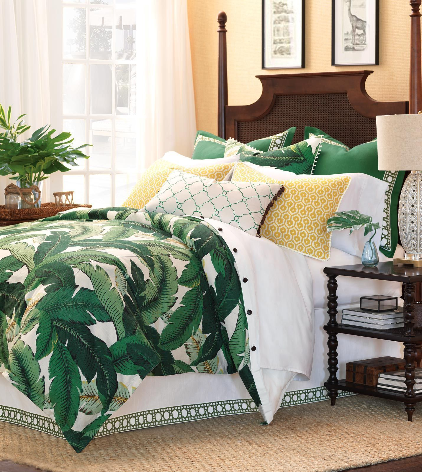 Grünes esszimmer design luxury bedding by eastern accents  lanai collection