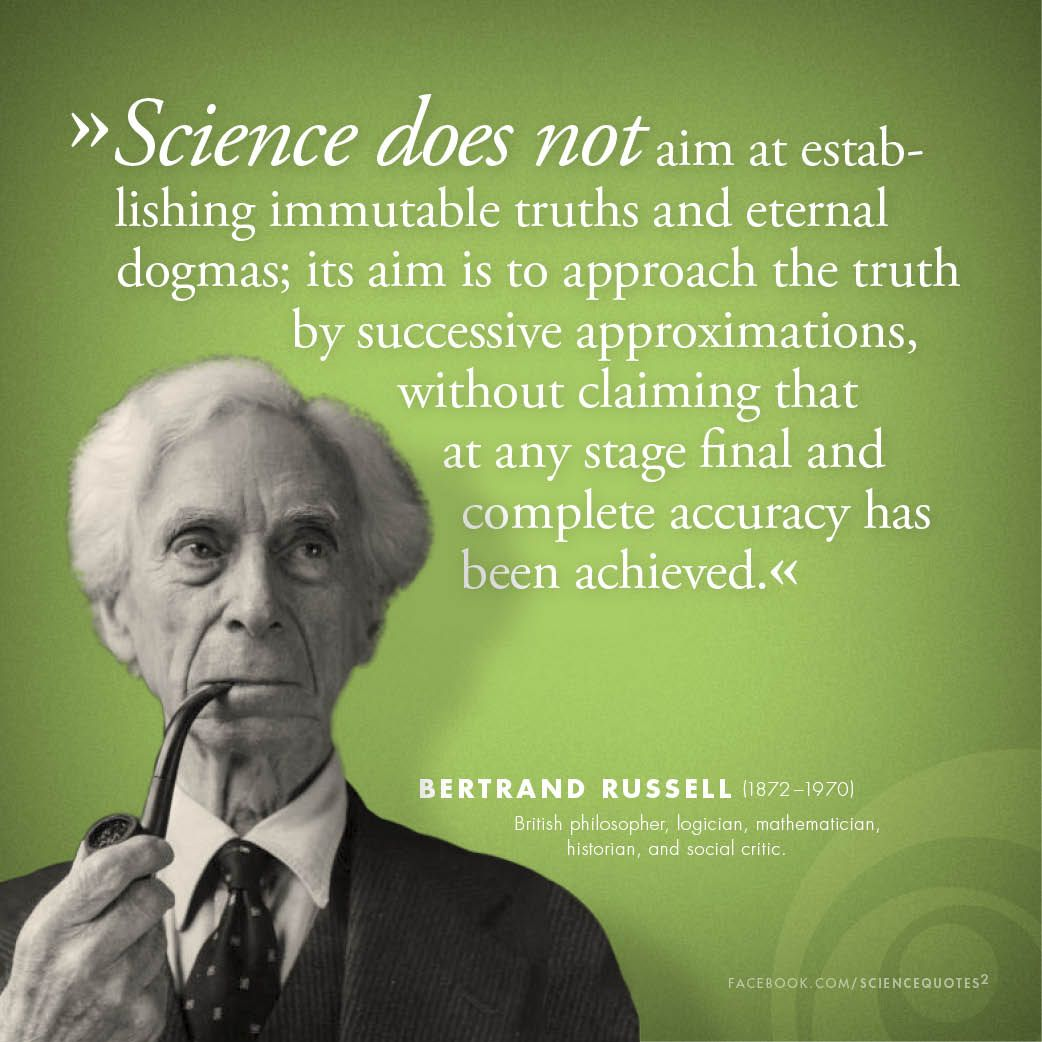 Scientist Quotes Bertrand Russell On Science Science Quotes Squared  Pinterest