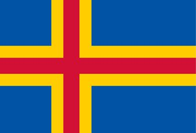 Aland Islands Flag Flag Of Aland Is Essentially A Flag Of Sweden With A Red Scandinavian Cross Representing Finland It Has A Aland Islands Islands Flag Flag