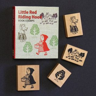 Book Stamp Set - Little Red Riding Hood