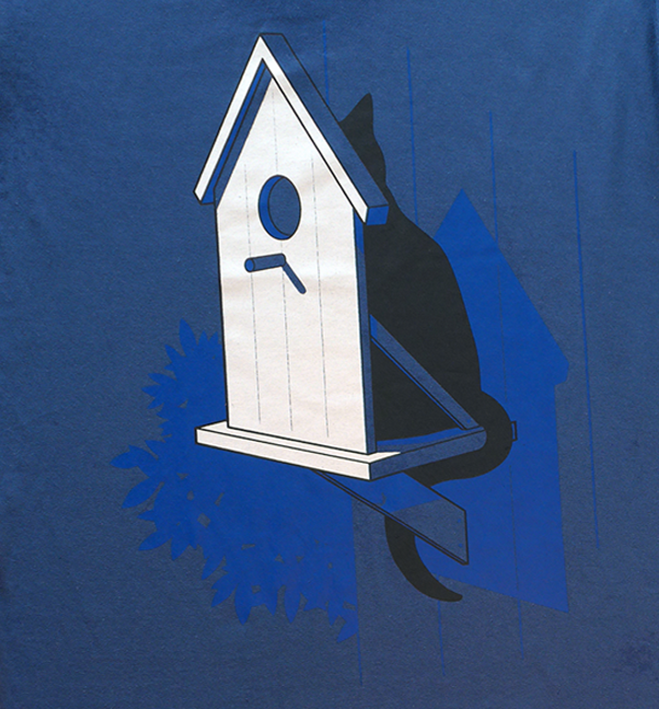 Cat Bird House via Tribe of E. Click on the image to see more!