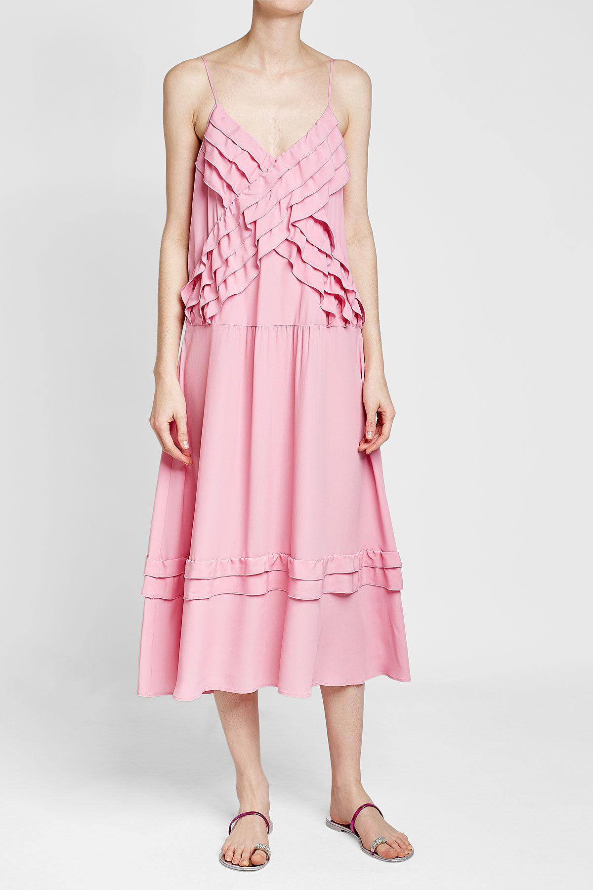 N°21 - Ruffle Maxi Dress | STYLEBOP