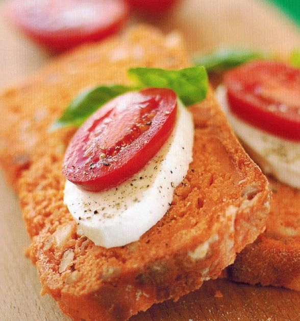 Canadian Nutty Sun-dried Tomato Loaf Appetizer
