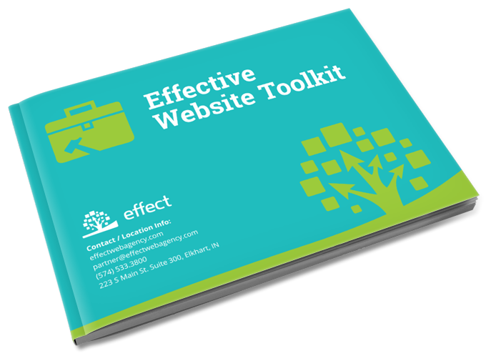 Download the Effective Website Toolkit. Get equipped to make your website a results-driven machine. The Effective Website Toolkit contains 10 tools that guide you to achieve awesome website results.