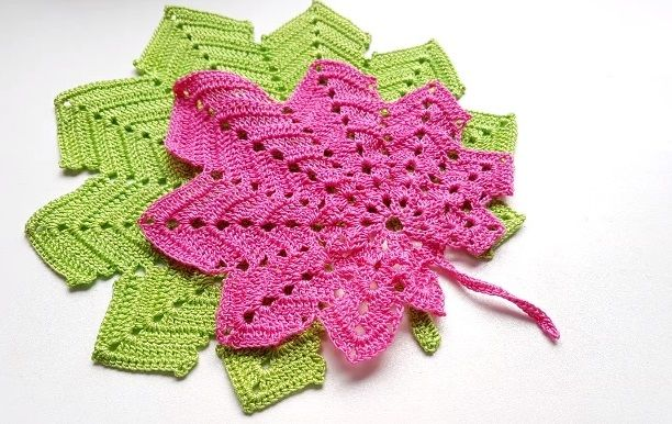 Crochet Maple Leaf Leaves Crochet And Patterns