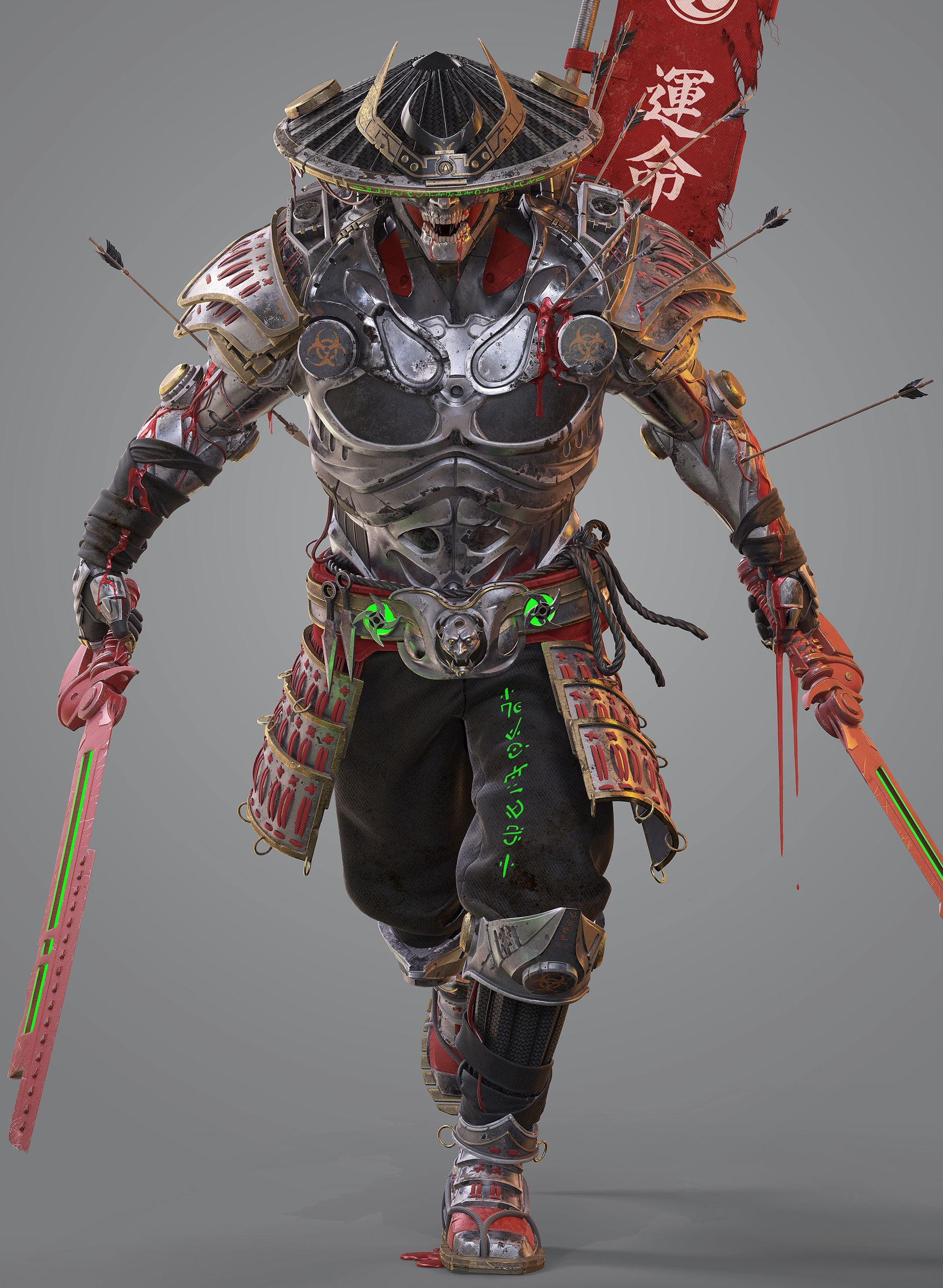 ArtStation - Anima 08s submission on Feudal Japan: The