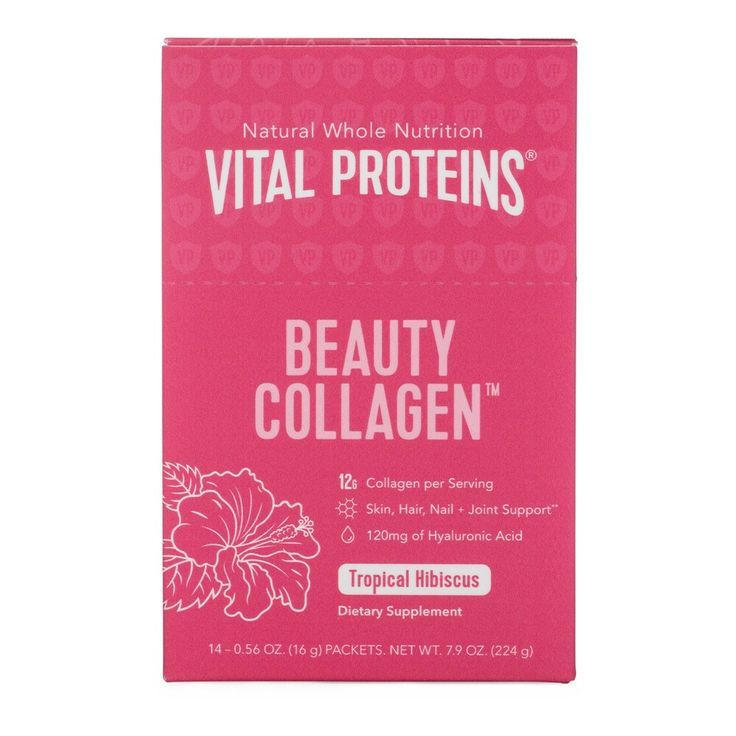 VITAL PROTEINS Beauty Collagen Hibiscus Tropical Stick Pack Box  Products