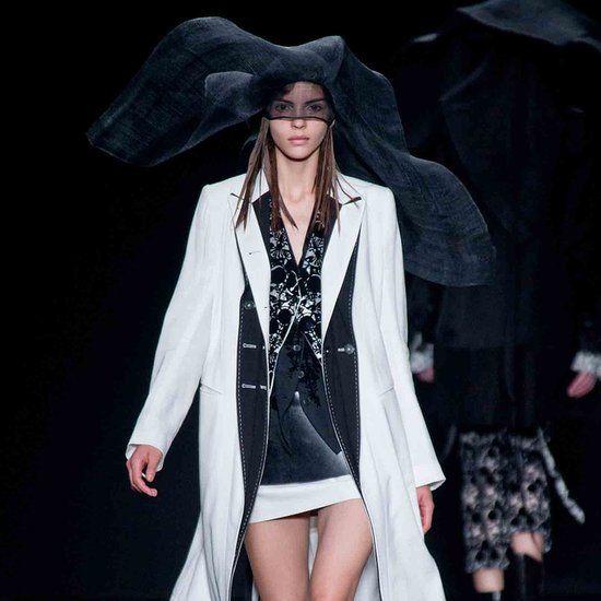 Ann Demeulemeester Spring 2014: Dark Glamour - stitching detail