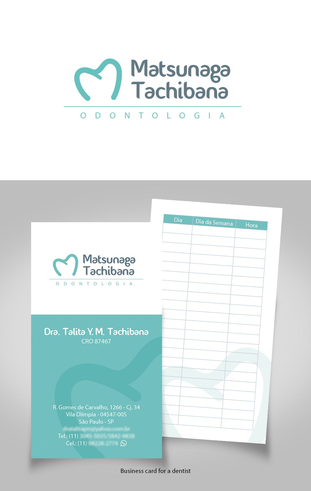 Logo and business card for dentist    designed by Sandra H. V. ... 460bc7696a