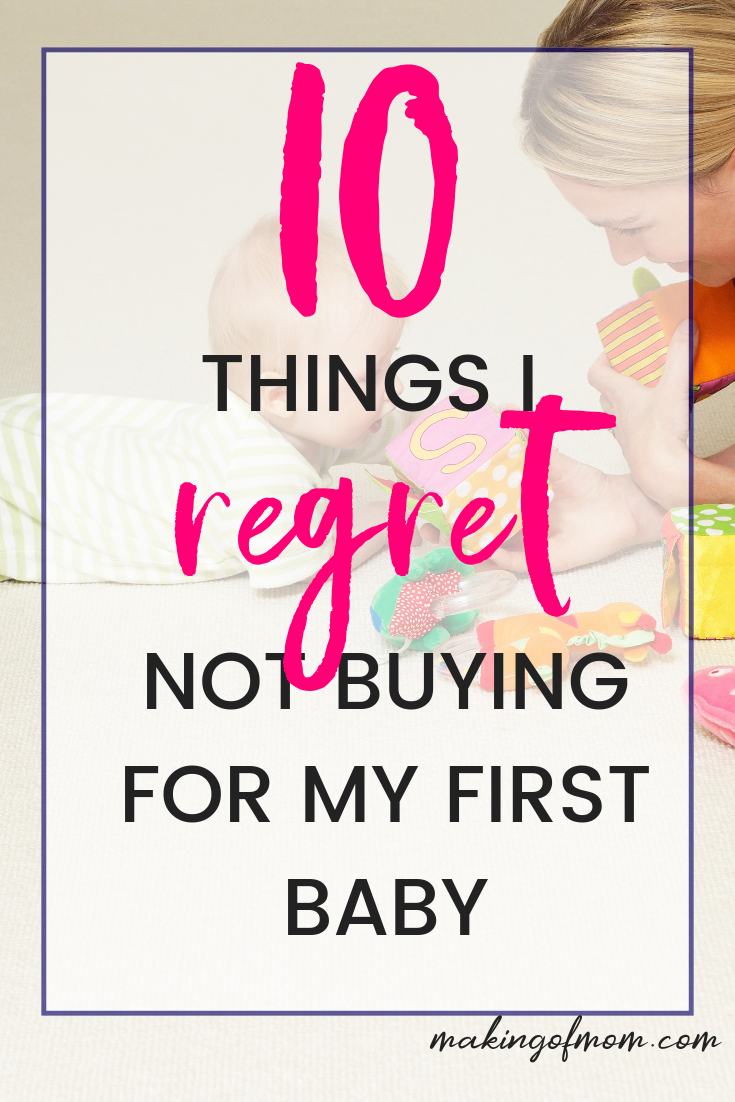 10 Things I Regret NOT Buying for My Baby | Newborn ...