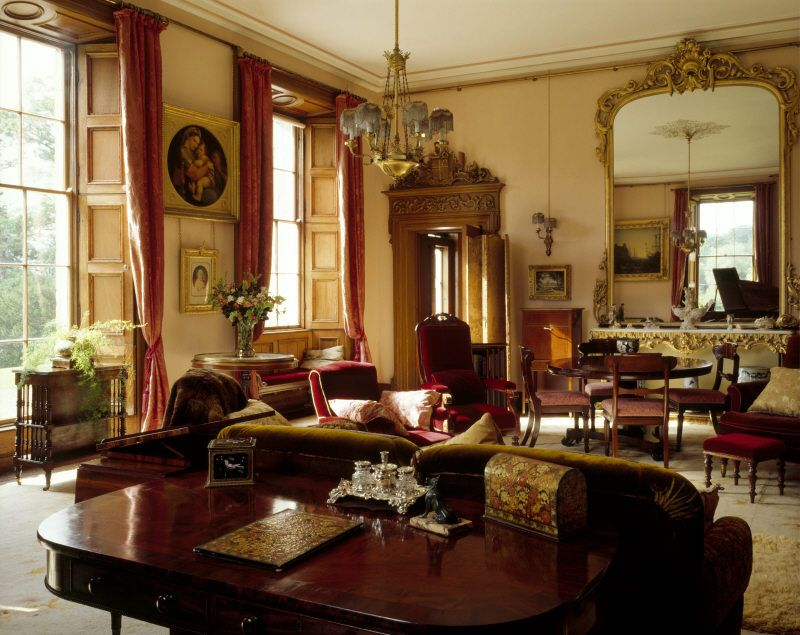 Victorian Drawing Room | The Drawing Room, With An Early Twentieth Century  Neo