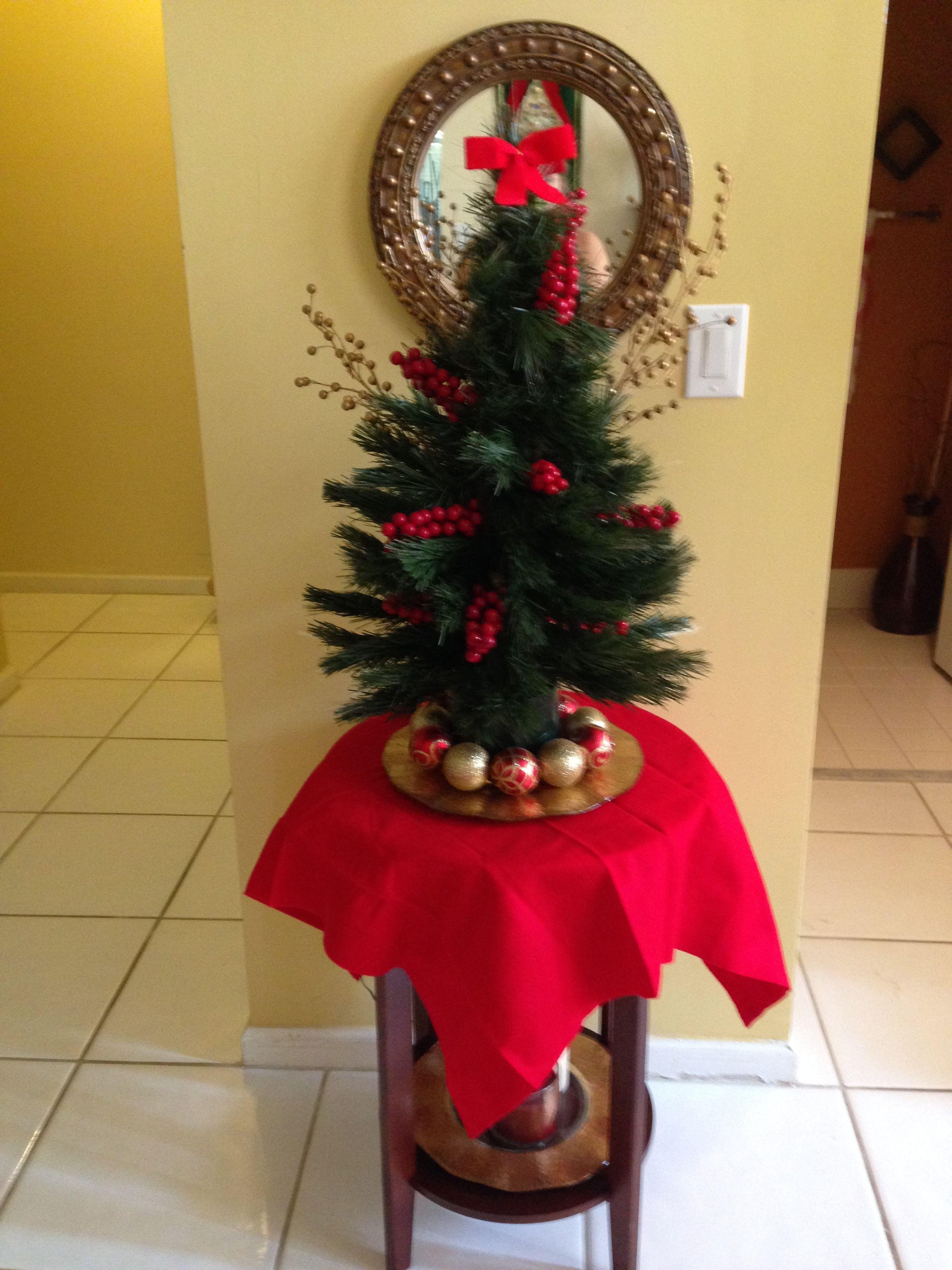 Arbol De Navidad Pequeno Arbol De Navidad Decoracion Navidad Navidad