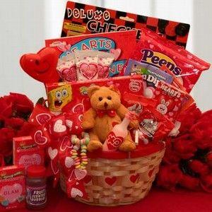 Valentine Gift Basket Idea For Kids Valentine Treats