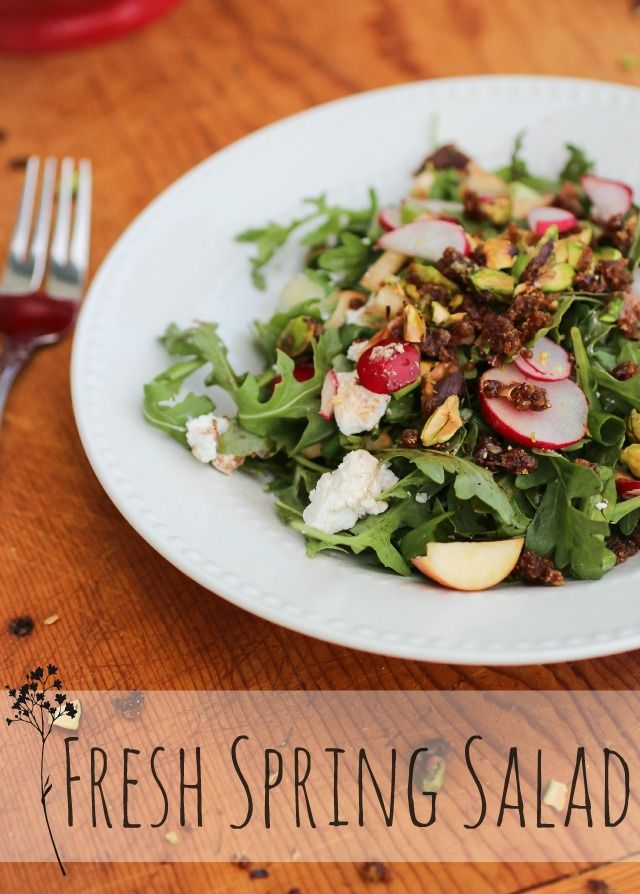 The Freckled Fox : Fresh Spring Salad