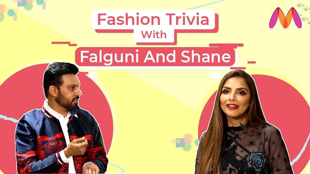 Fashion Trivia With Falguni And Shane Peacock Ask Me Anything Myntra In 2020 Ask Me Anything Myntra Famous Designers