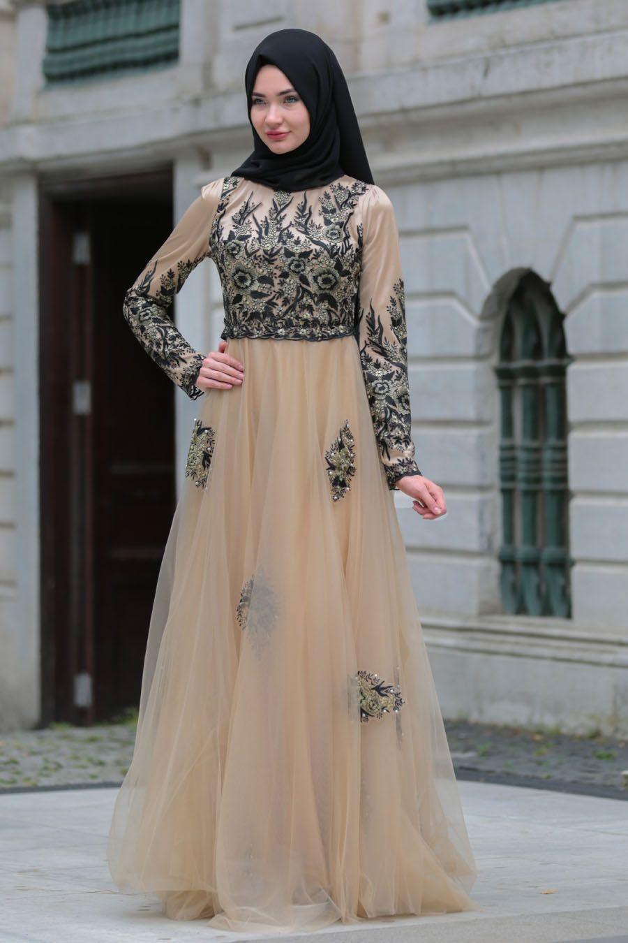 2018 Tesetturlu Soz Abiye Elbise Modelleri Https Www Tesetturelbisesi Com 2018 Tesetturlu Soz A Muslimah Fashion Outfits Muslim Women Fashion Islamic Dress