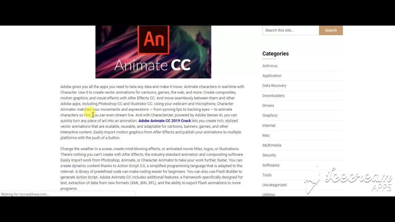 Adobe Animate CC 2019 Crack | Tehreem Ali | Adobe animate