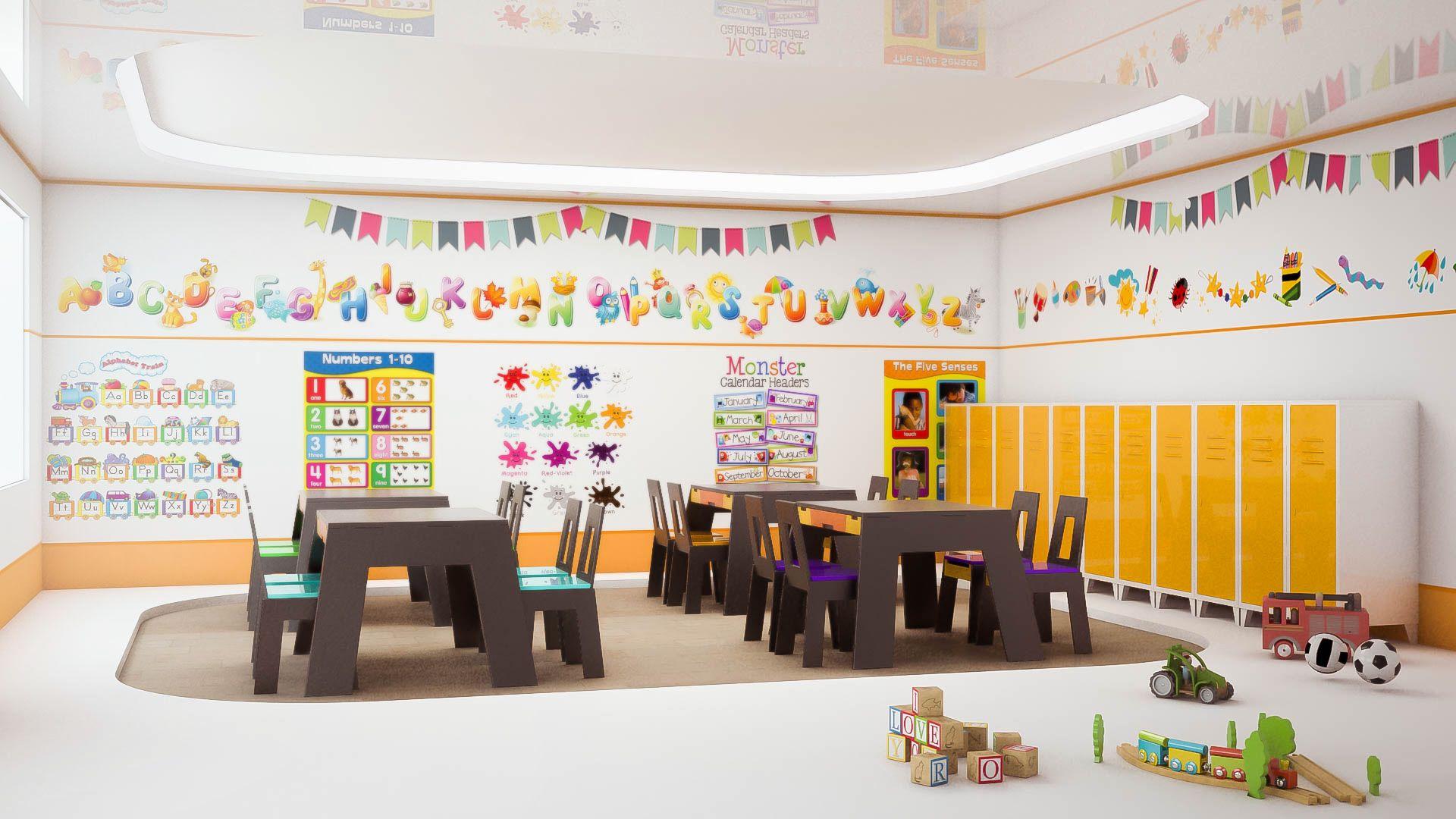 Kindergarten Interior Design - Escola - Pinterest - Pre School, Interiors