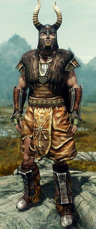 Atmoran General By Jim Mcquaid Stormcloak Officer Armor Ancient