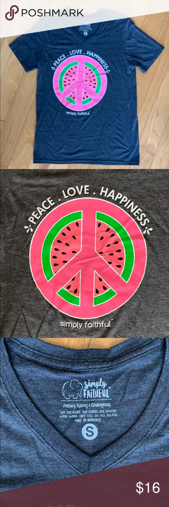 Happiness Watermelon by Simply Southern Simply Faithful Collection  Peace Love