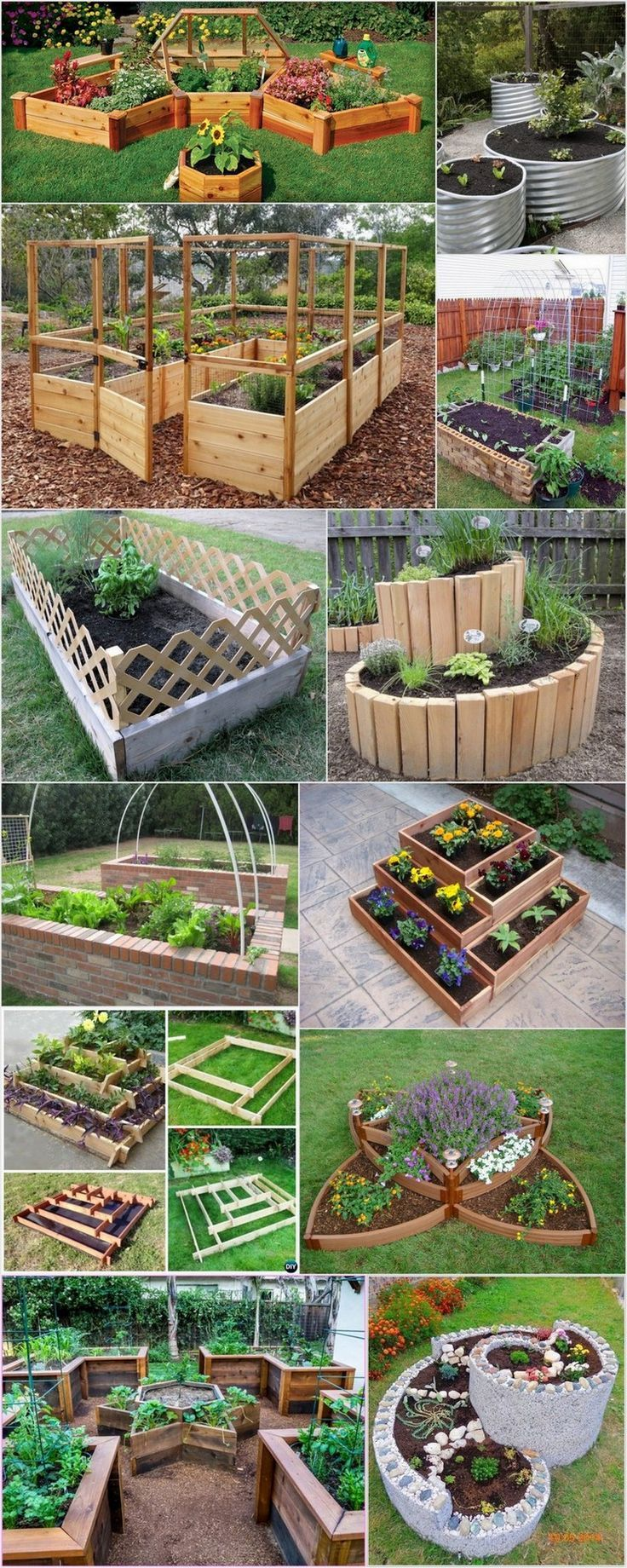 Herb Garden Outdoor Raised Beds