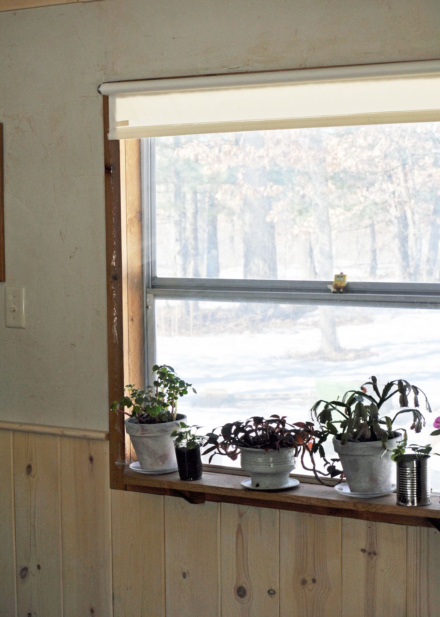 Old, awful, drafty, original mobile home windows (single