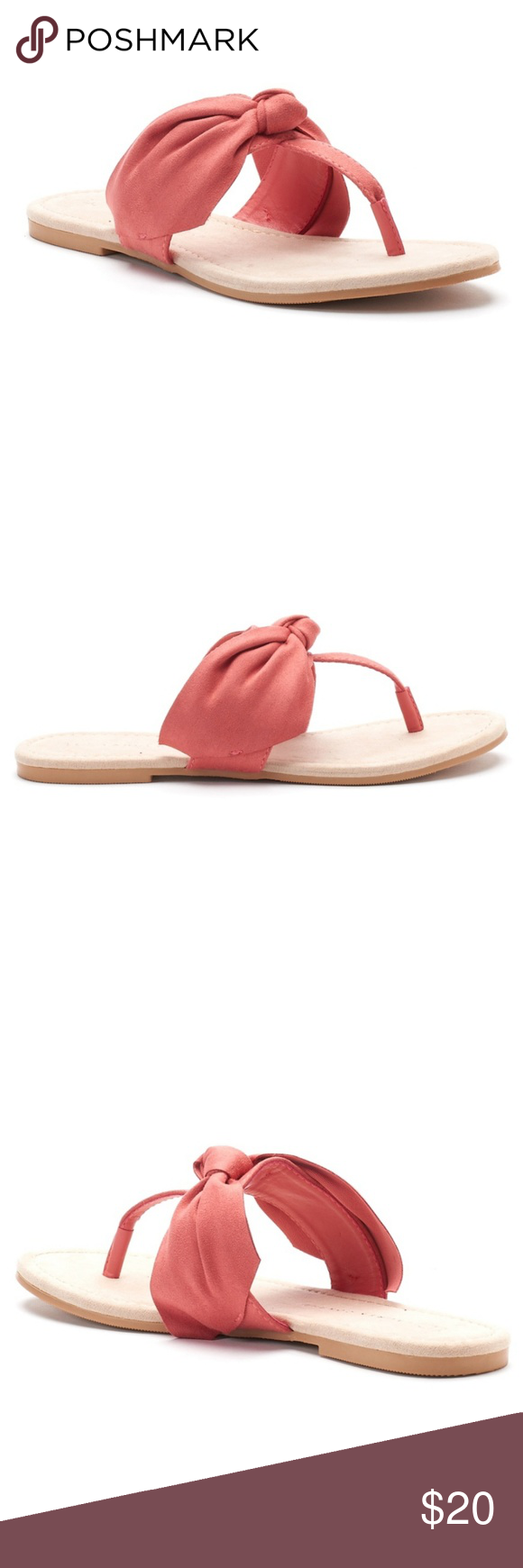66689cb6721e NWT LC Lauren Conrad Floppy Knot Sandals Size 11 NWT . Brand New . Never  worn