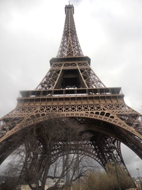 I love the Eiffel Tower up close!