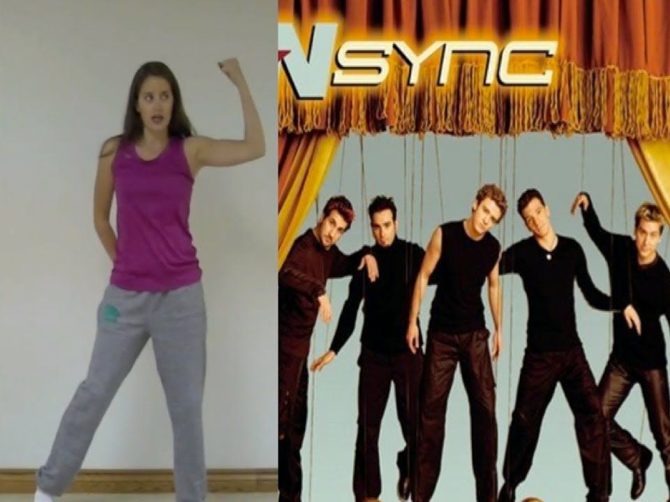 N Sync Bye Bye Bye Dance Tutorial Nsync Dance Videos Dance Workout