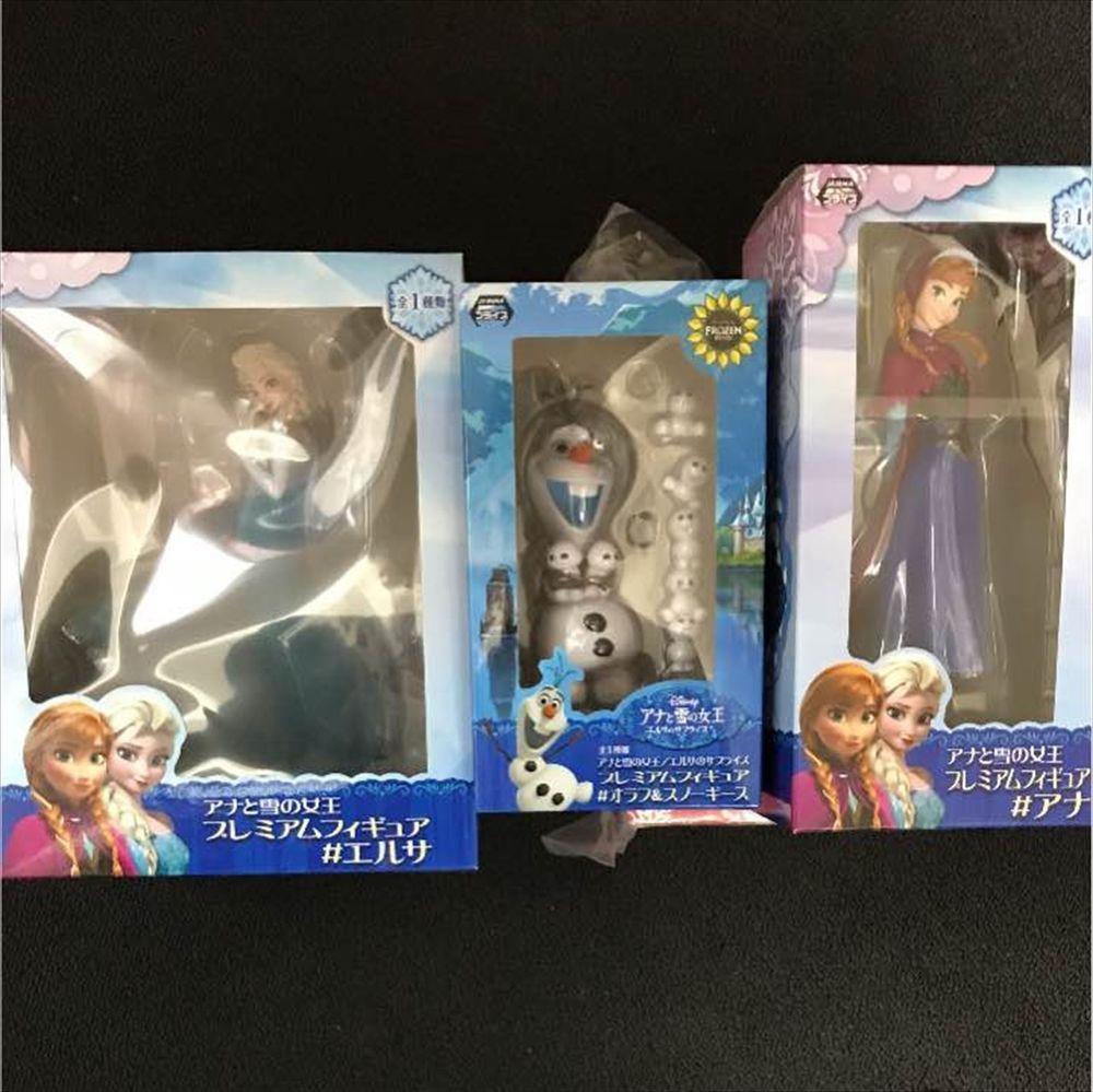 New Disney Frozen Premium Figure Elsa With Box SEGA Japan