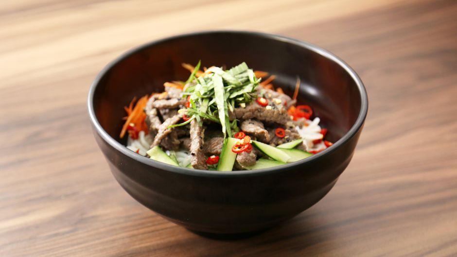 Sesame lemongrass beef noodle salad asian food channel nomnom sesame lemongrass beef noodle salad asian food channel forumfinder Choice Image