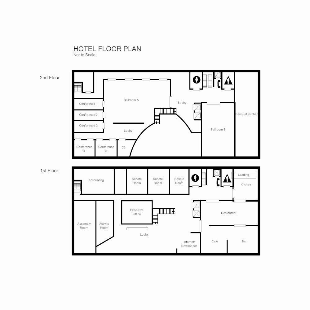 Warehouse Floor Plan Template Fresh Floor Plan Templates Draw Floor Plans Easily With Templates In 2020 Hotel Floor Plan Warehouse Floor Plan Floor Plan Design