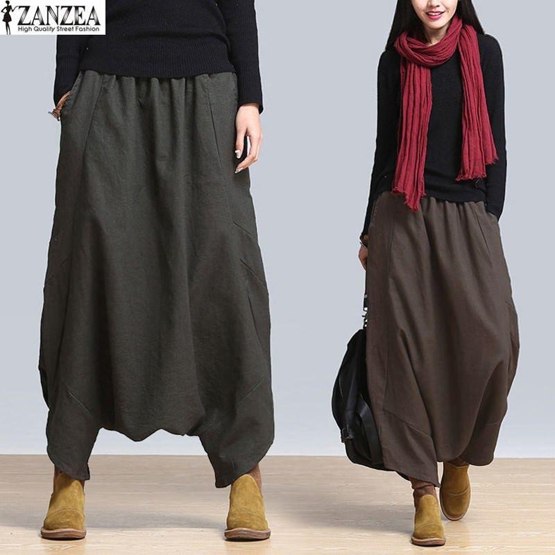 e9406b7181e Drop-Crotch Harem Pant-Skirt   Price   24.99  amp  FREE Shipping