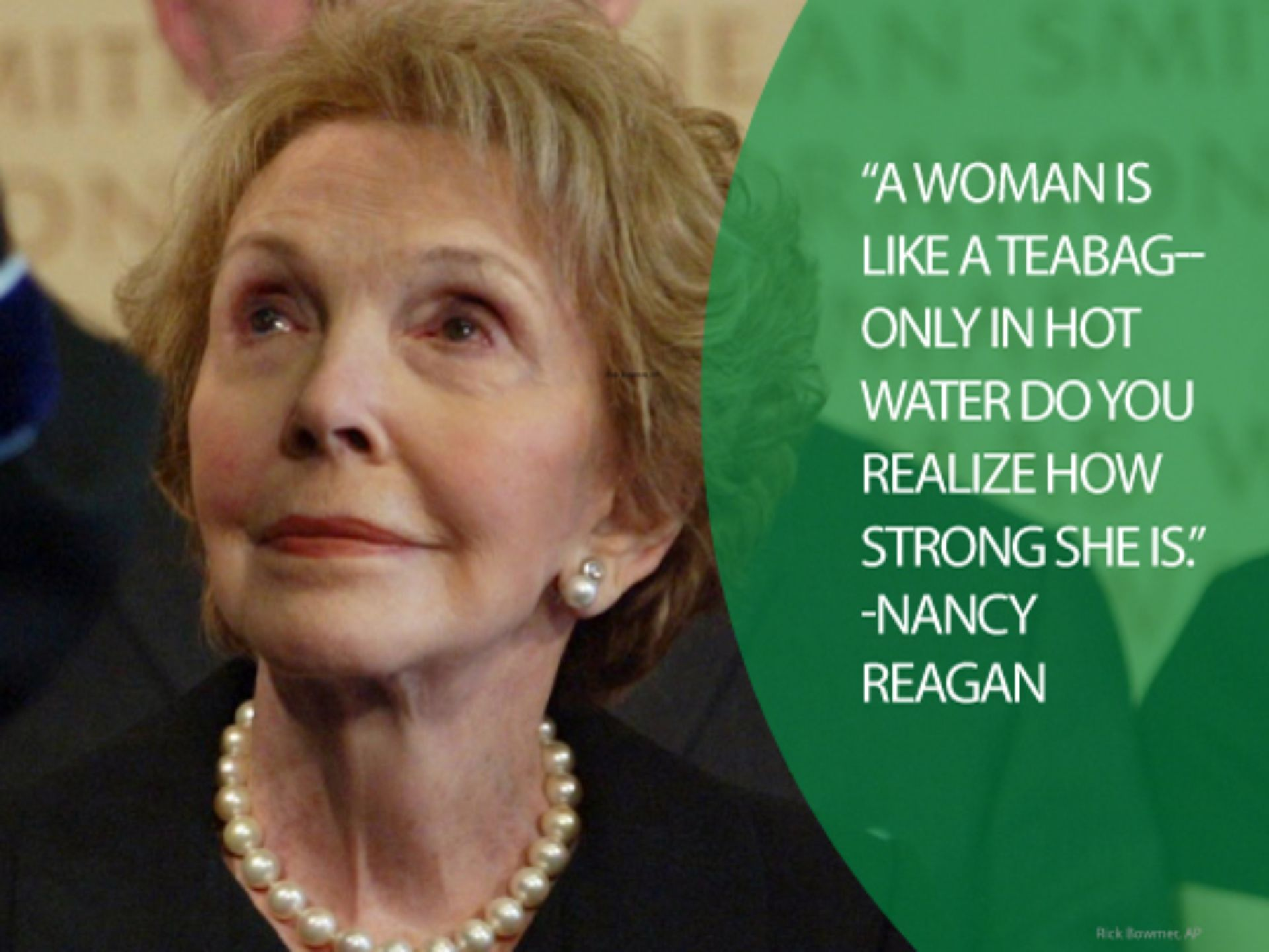 Quotes By Famous Women Quotes From Famous American Women  Nancy Reagan Nancy Dell'olio