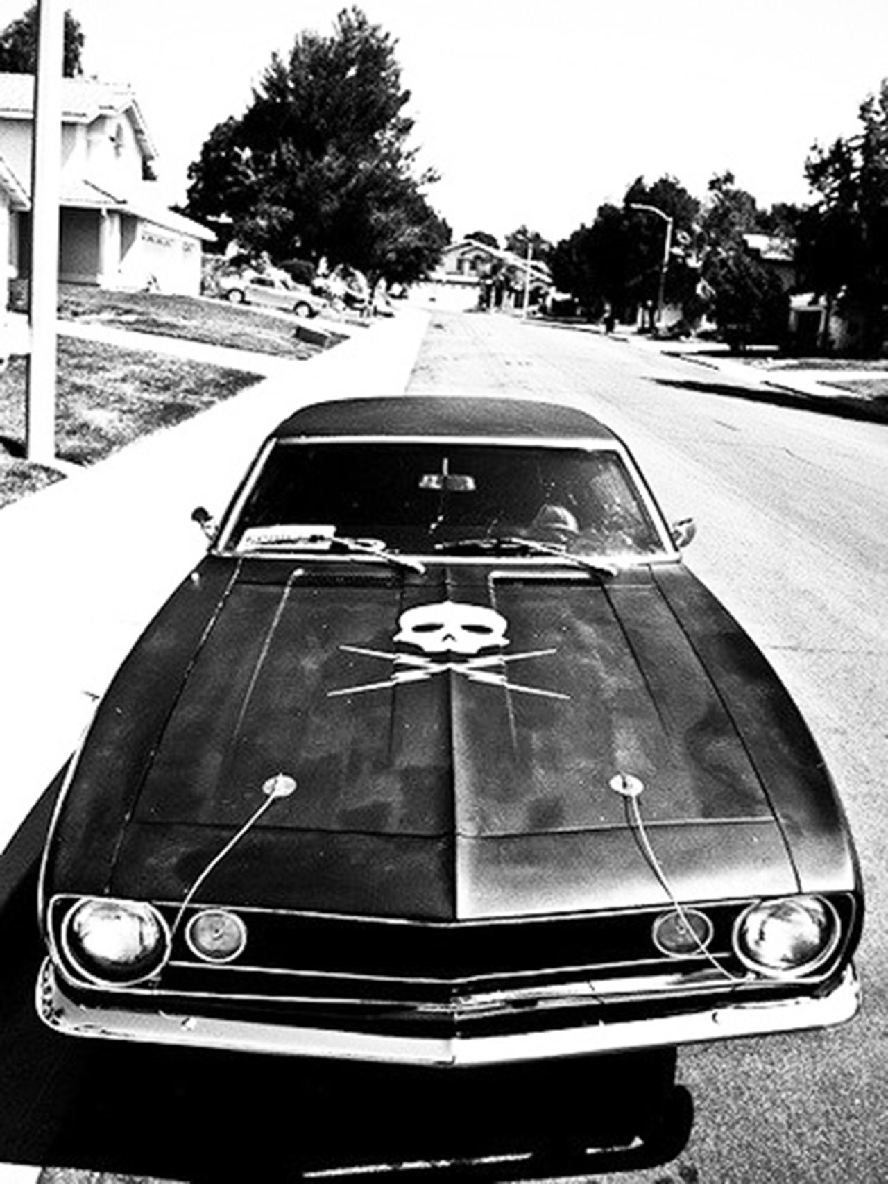 My spoof to death proof with the original cover art car they used the camaro in the movie they obviously used a 1970 chevy nova a dodge charger death