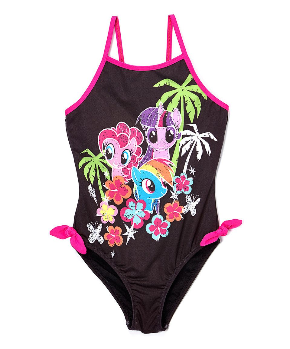 61834104c Look at this  zulilyfind! My Little Pony Power One-Piece - Toddler ...