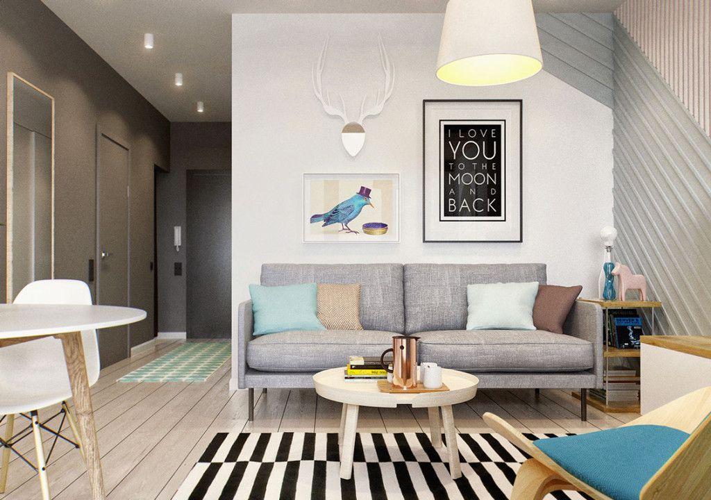 Kleine Wohnung modern und funktionell einrichten in 2019 | sleep ...