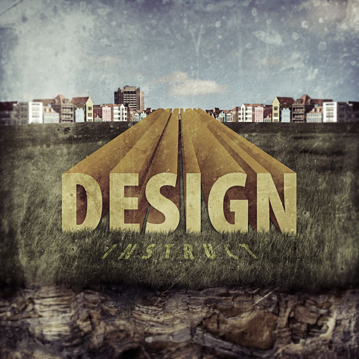 TUTORIAL Create Stunning 3D Text in a Grungy Landscape