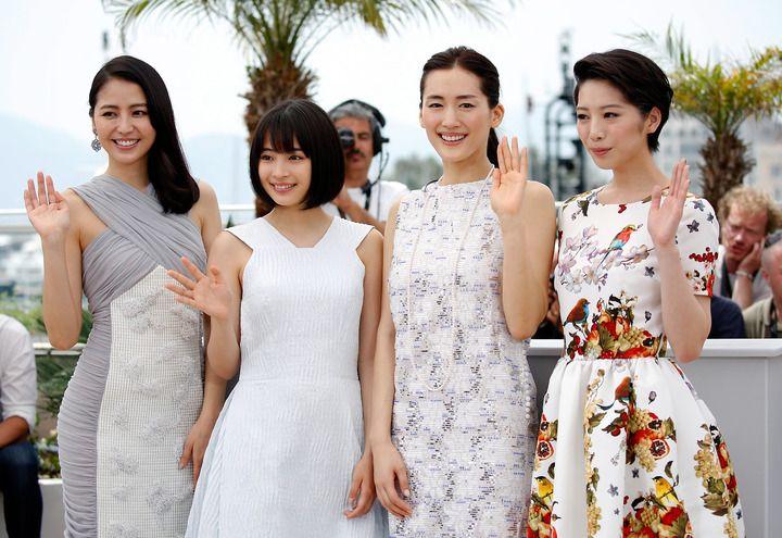 海街diary:広瀬すずら4姉妹がカンヌ映画祭で美の競演 - 写真詳細 - MANTANWEB(まんたんウェブ) - MANTAN