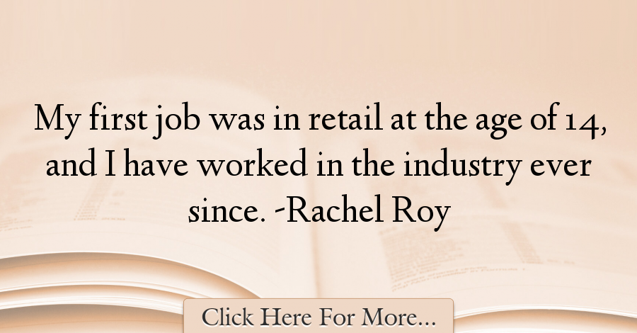 Rachel Roy Quotes About Age - 989