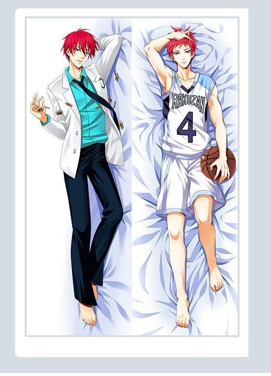 seijuro akashi hugging body pillow case