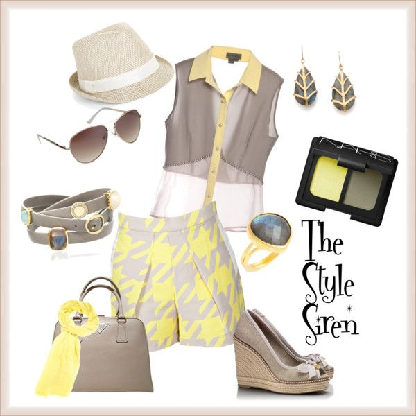 Safari in Style, styled by J.D. Hulbert, The Style Siren on Polyvore.